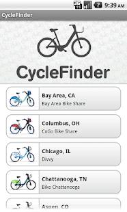 CycleFinder - screenshot thumbnail