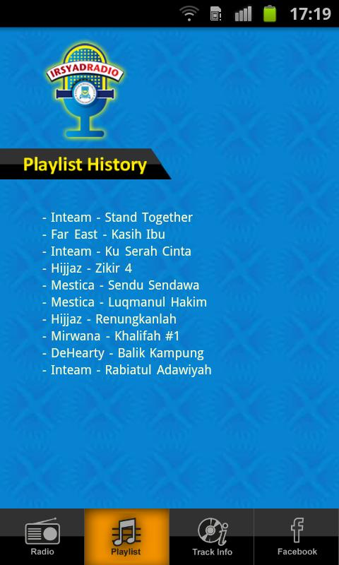 Irsyad Radio- screenshot