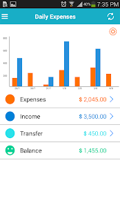 Expense Manager - Saving money - screenshot thumbnail