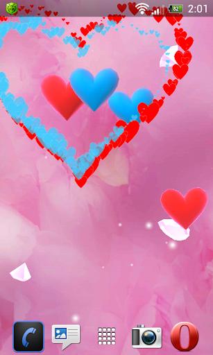 Hearts Dance 3D free