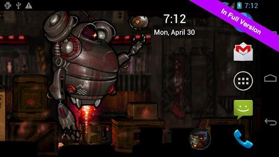 Robot Squad Free Wallpaper- screenshot thumbnail