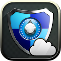 Password Manager + Cloud icon
