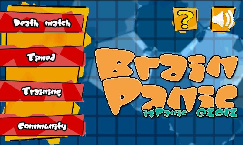 BrainPanic free- screenshot