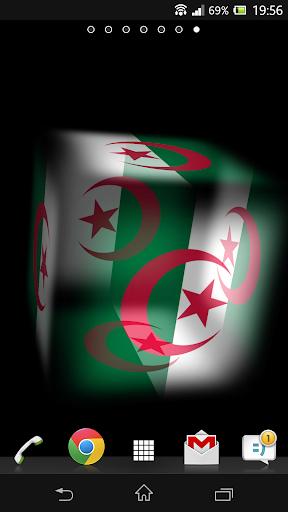 3D Algeria Live Wallpaper