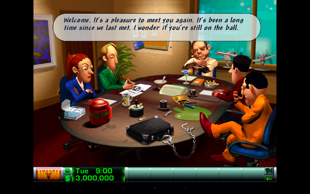 Airline Tycoon Deluxe - screenshot