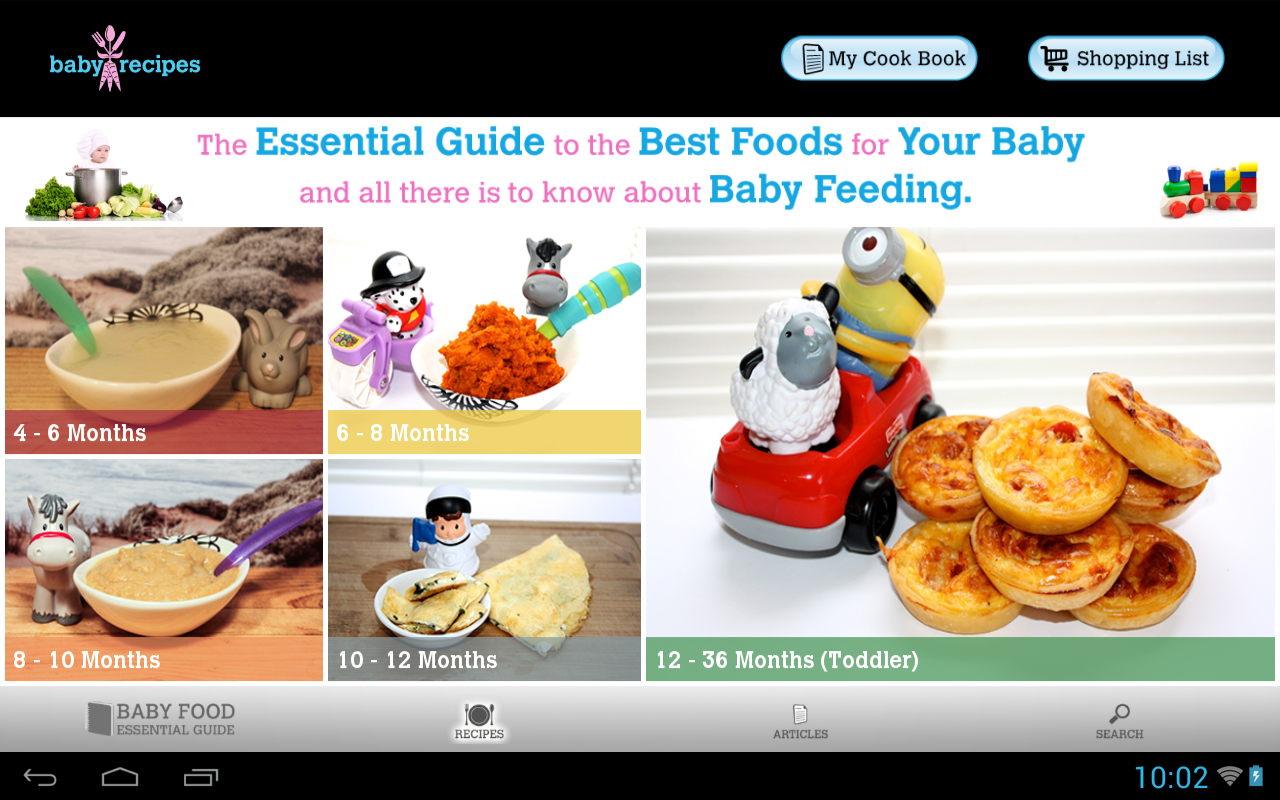 Baby recipes health android apps on google play baby recipes health screenshot forumfinder Gallery