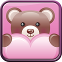 Teddy Bear Hearts Wallpaper icon