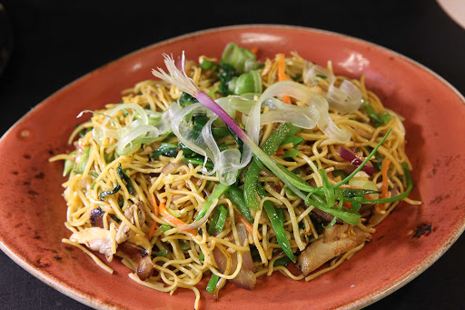 Carnival-Cruise-Lines-JiJi-Asian-Kitchen-Hakka-Style-Noodles - Hakka Style Noodles offer a filling meal when you dine at Ji Ji Asian Kitchen aboard Carnival Sunshine.