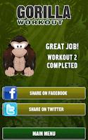 Screenshot of Gorilla Workout: Strength Plan