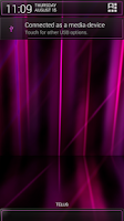 Screenshot of Laser Pink CM11/AOKP Theme