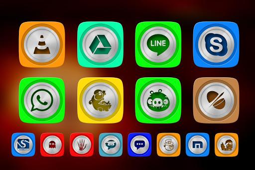 Silvon Icon Pack Theme
