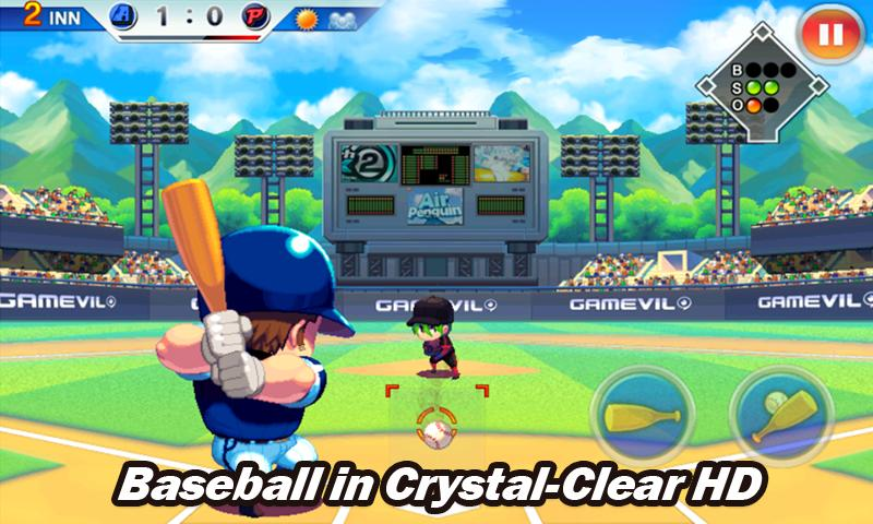 Baseball Superstars® 2012- หน้าจอ