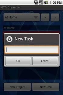 GTD Organizer Free- screenshot thumbnail