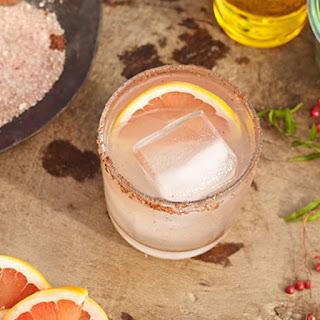 Paloma with Pink Peppercorn Salt.