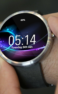 Elegant Watch Face - Moto 360- screenshot thumbnail