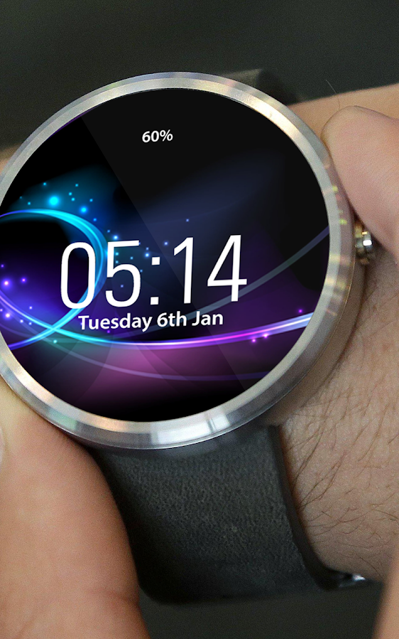 Elegant Watch Face - Moto 360- screenshot