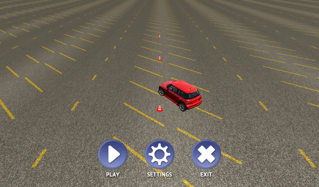 Slalom Racing Simulator 3D - screenshot
