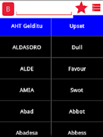 Screenshot of English Basque Dictionary