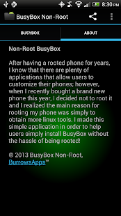 BusyBox Non-Root - screenshot thumbnail