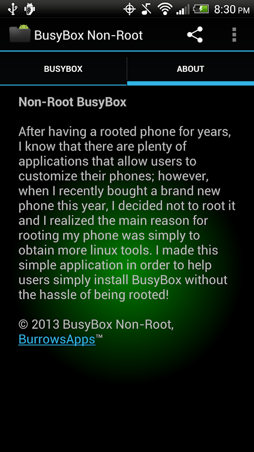 BusyBox Non-Root - screenshot