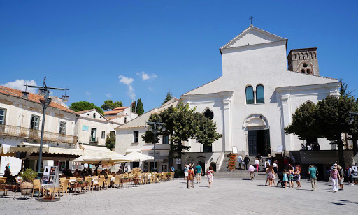 duomo-ravello-amalfi-italy - The town of Amalfi, Italy, centerpiece of the famed Amalfi Coast.