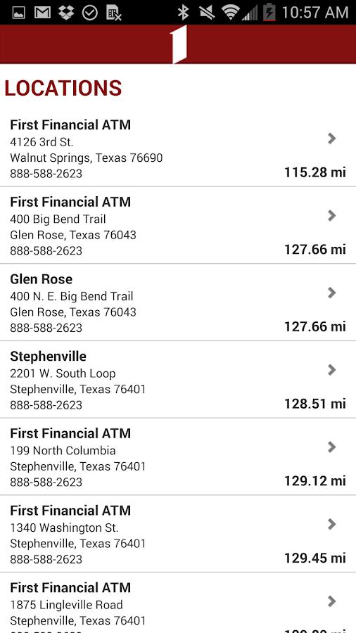 First Financial Mobile Banking- screenshot