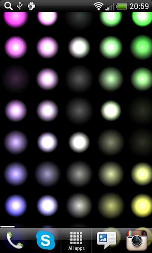 Led Lights Live Wallpaper FREE