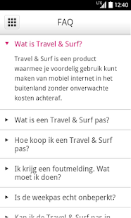 Travel & Surf - screenshot thumbnail