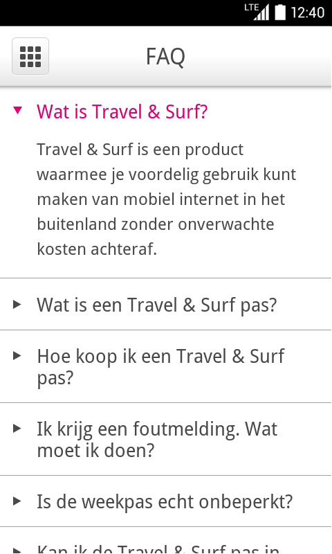 Travel & Surf - screenshot
