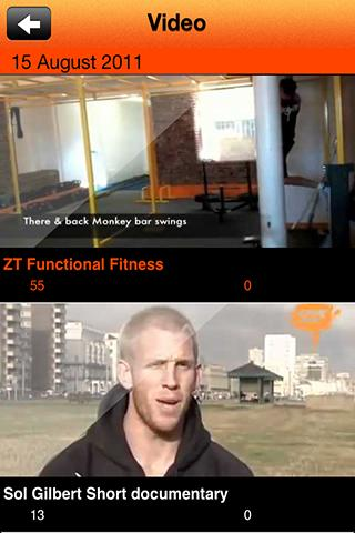 ZT FAmily Fitness - screenshot