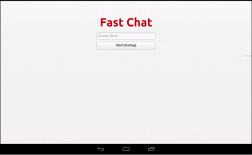 Fast Chat - private chat rooms
