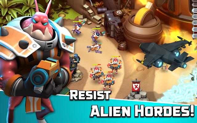 Alien Creeps TD v1.8.0 (Unlimited Gold/Gems)