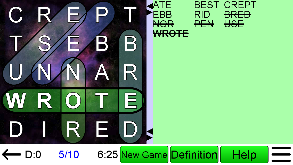 Word Search Ultimate +- screenshot