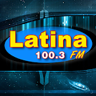 Latina 100.3 FM icon