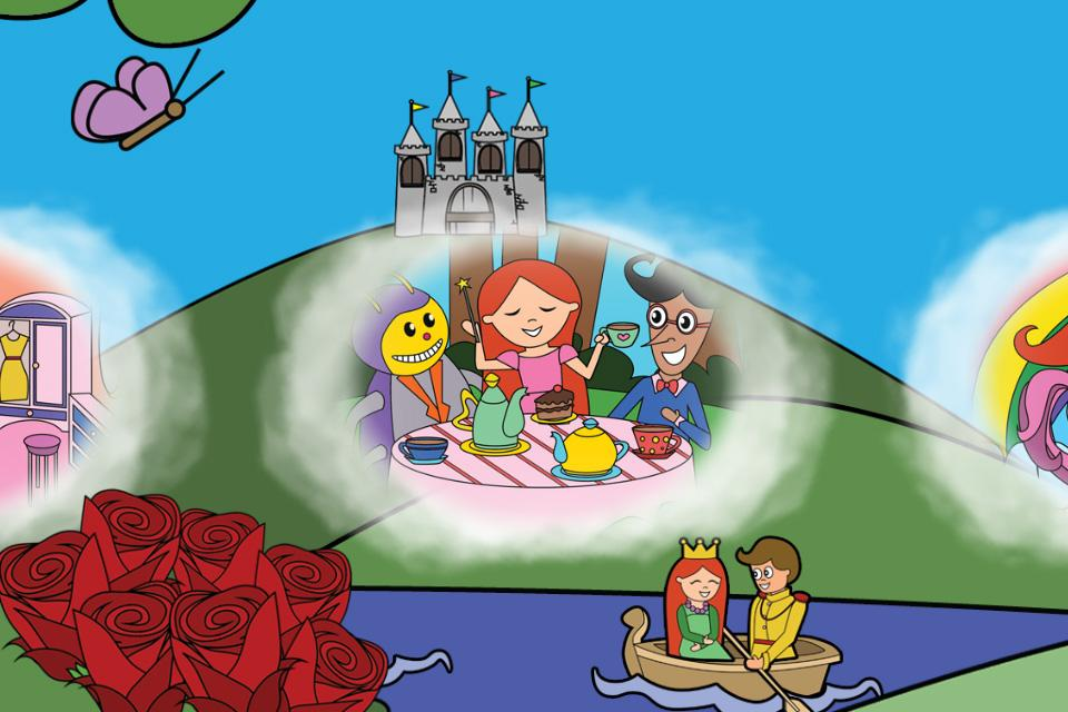 Princess Fairy Tale Puzzles- screenshot