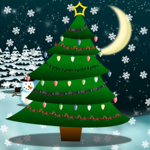 Christmas Tree Live Wallpaper 個人化 App LOGO-APP試玩