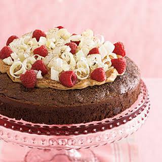 Fudgy Chocolate Tiramisu Cake.