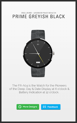 Prime Watch Face for Moto 360