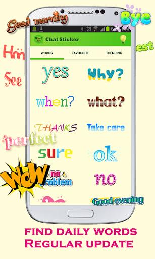 無料通讯Appのテキストステッカーチャット|HotApp4Game