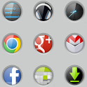 Gloss lockCircles LGHome Theme icon
