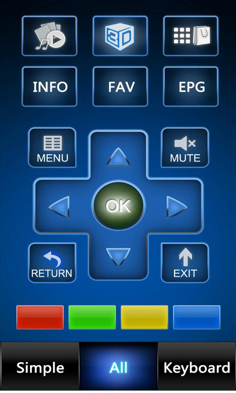 Hisense smart remote for Pad - screenshot