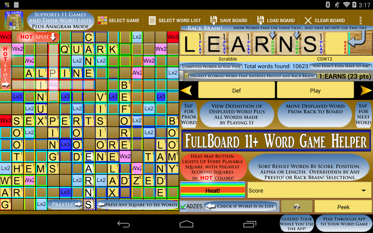 Words Solver 4 Friends + Ten- screenshot