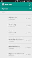 Screenshot of Easy Cloud Print