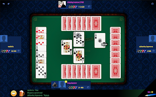 Screenshot of Play Belot (Bridge-belote)