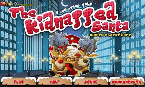 Christmas Kidnapped Santa HOG