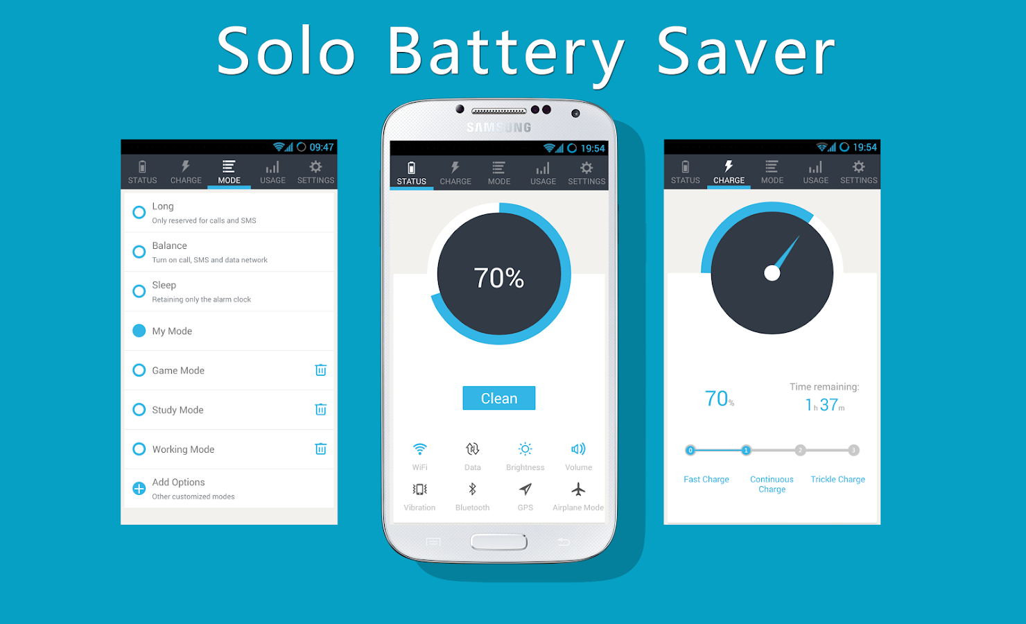 Solo Battery Saver- screenshot