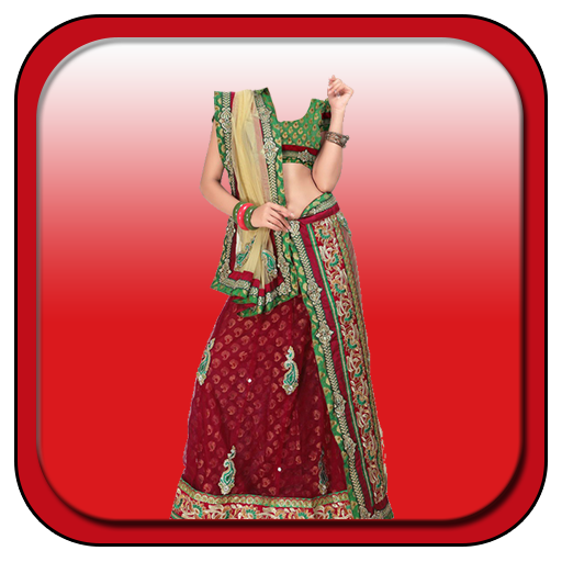 Woman Chaniya Choli Camera LOGO-APP點子