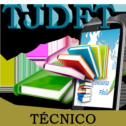 PCF0001 TJDFT Concurso Fácil 教育 App LOGO-硬是要APP