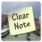 Clear Note Widget Sticky Notes icon