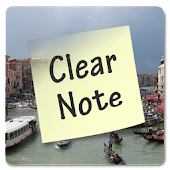 Clear Note Widget Sticky Notes